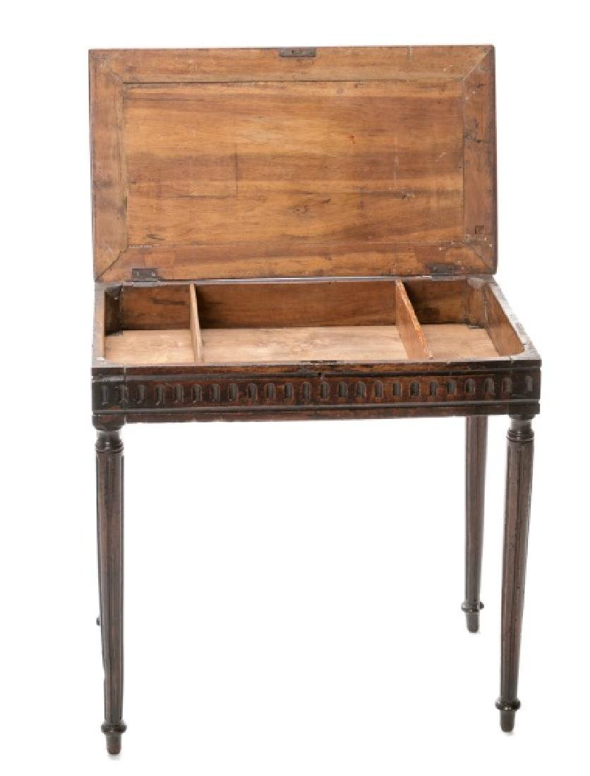 18th/19th C. Italian Tuscan Walnut Painter's Table