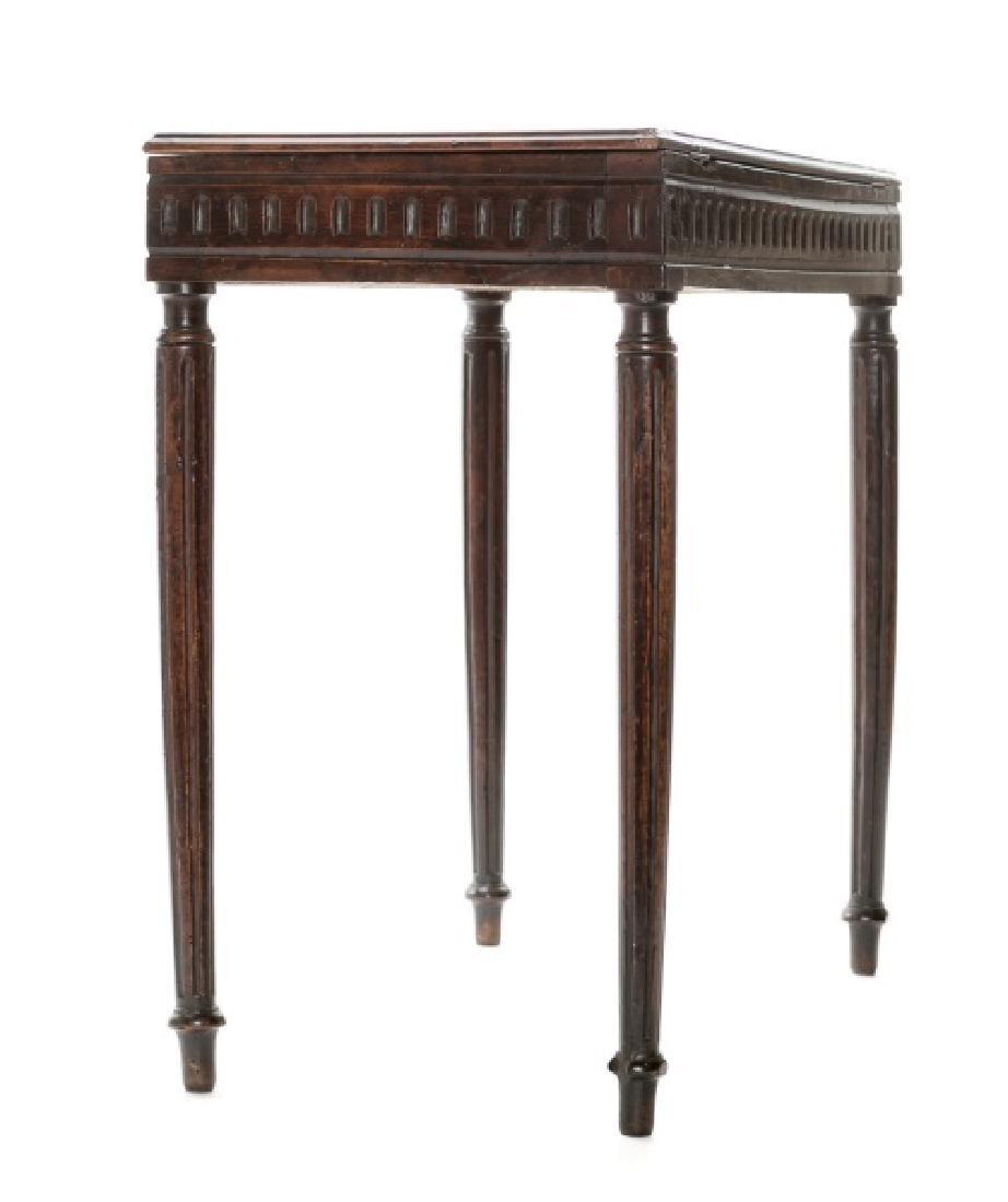 18th/19th C. Italian Tuscan Walnut Painter's Table - 3