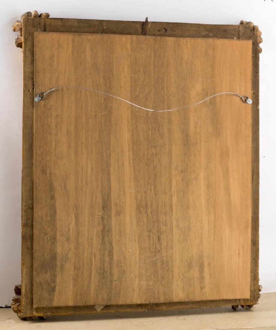 19th C. Italian Giltwood Mirror, Acanthus Corners - 2