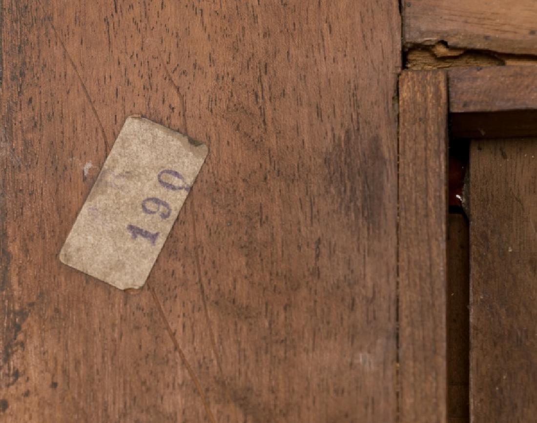 Pair, 19th C. Mahogany & Walnut Wall Shelves - 6