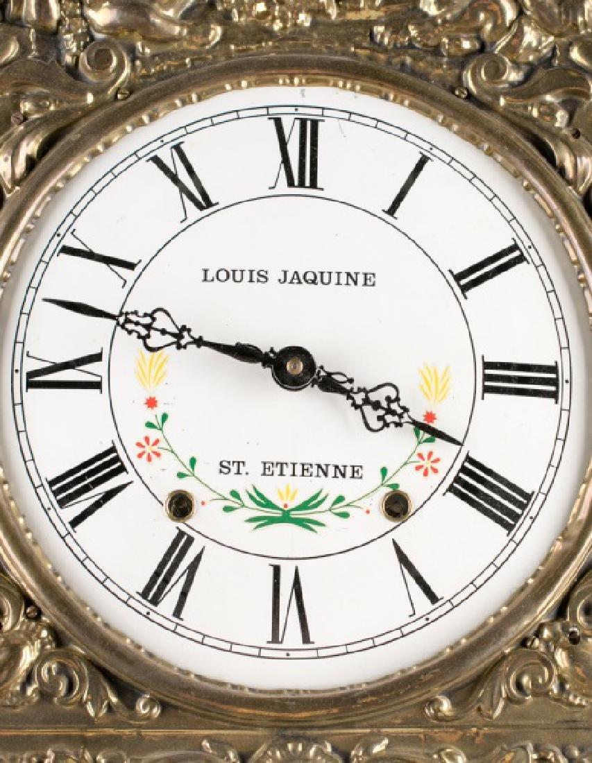 Louis Jaquine St. Etienne Morbier Wall Clock - 2