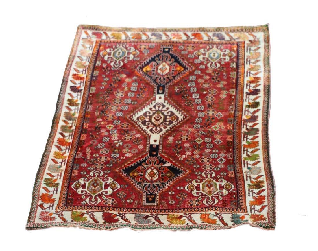 Hand Woven Persian Qashghi 5' 1'' x 8' 2''