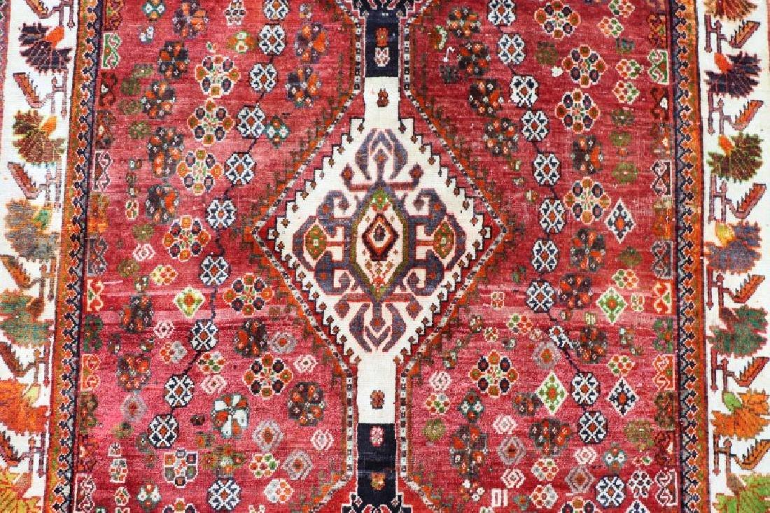 Hand Woven Persian Qashghi 5' 1'' x 8' 2'' - 2