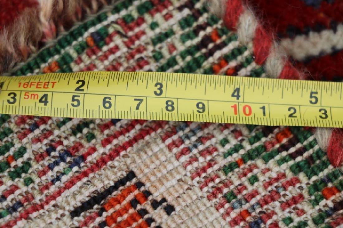 Hand Woven Persian Qashghi 5' 1'' x 8' 2'' - 4