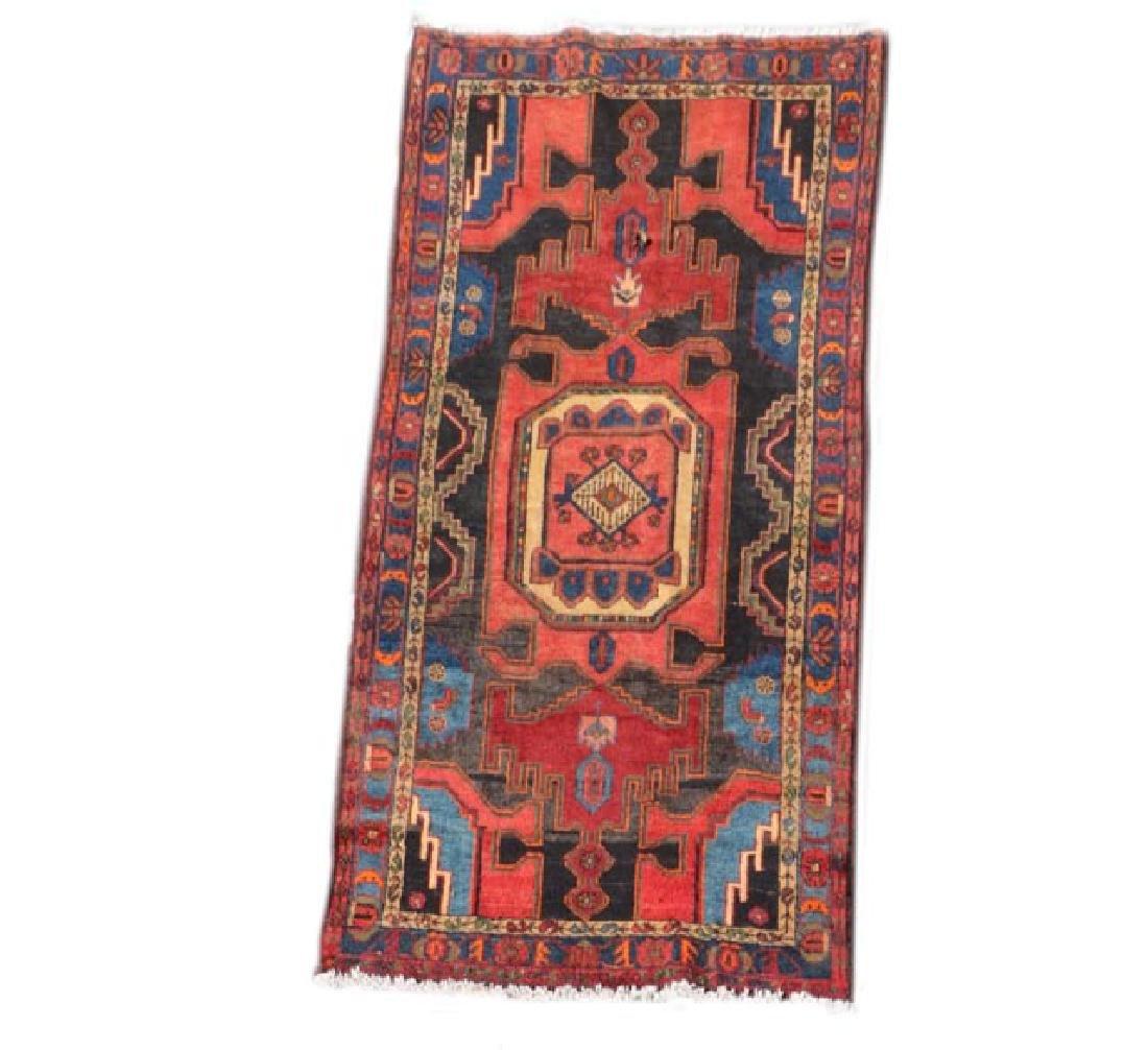 Hand Woven Persian Hamadan 4' 2'' x 8' 2''