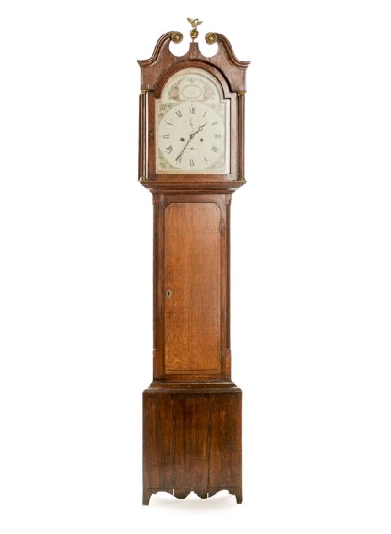 David Sutherland 18th C. Scottish Tall Case Clock