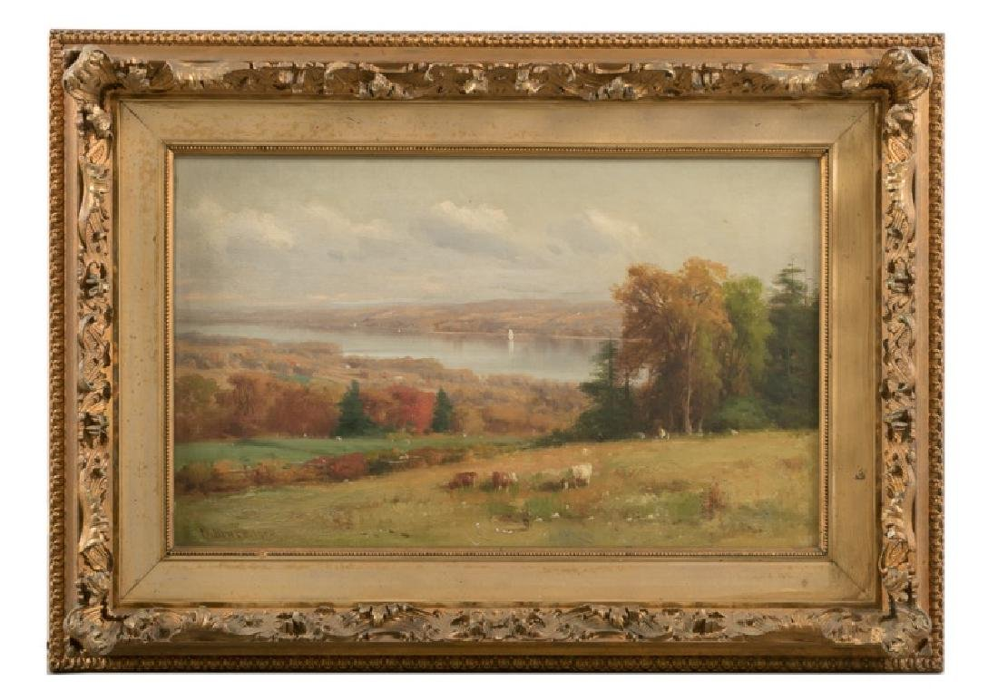 William Bruce, Signed 1905 New York Landscape Oil