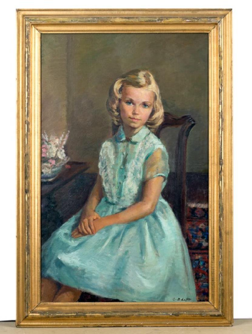 Constantin Chatov, Portrait of Antoinette Roberts