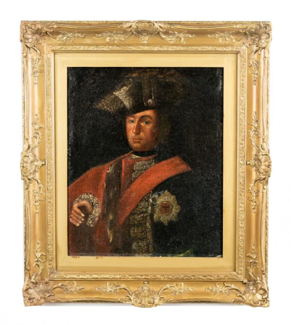 Early 19th C. Portrait of Napoleonic Solider, O/C