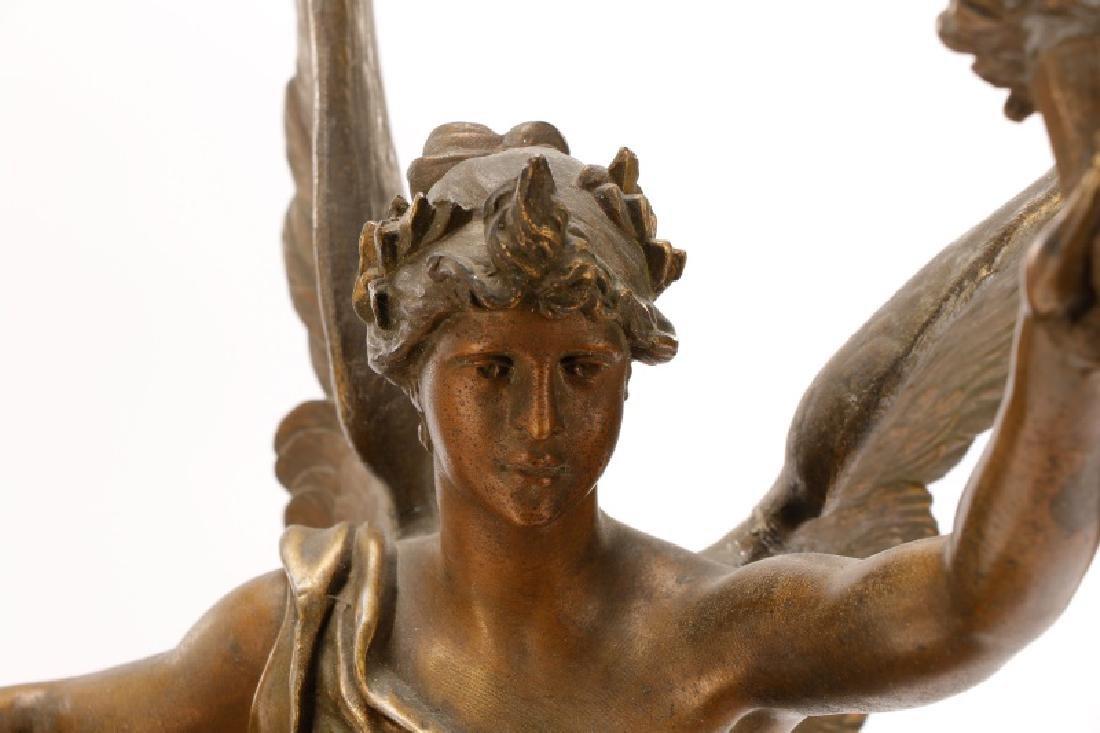 "Marcel Debut, ""La Science"" Bronze on Marble - 4"