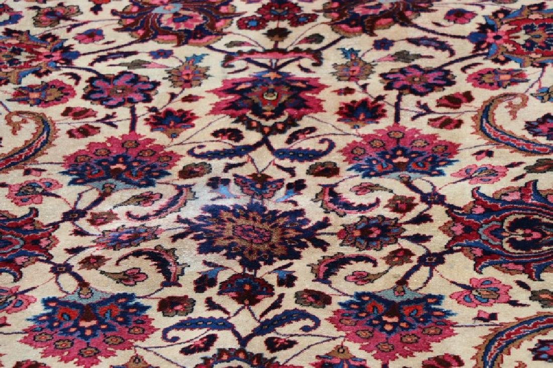 Hand Woven Persian Mashad Rug 10' x 13' - 2