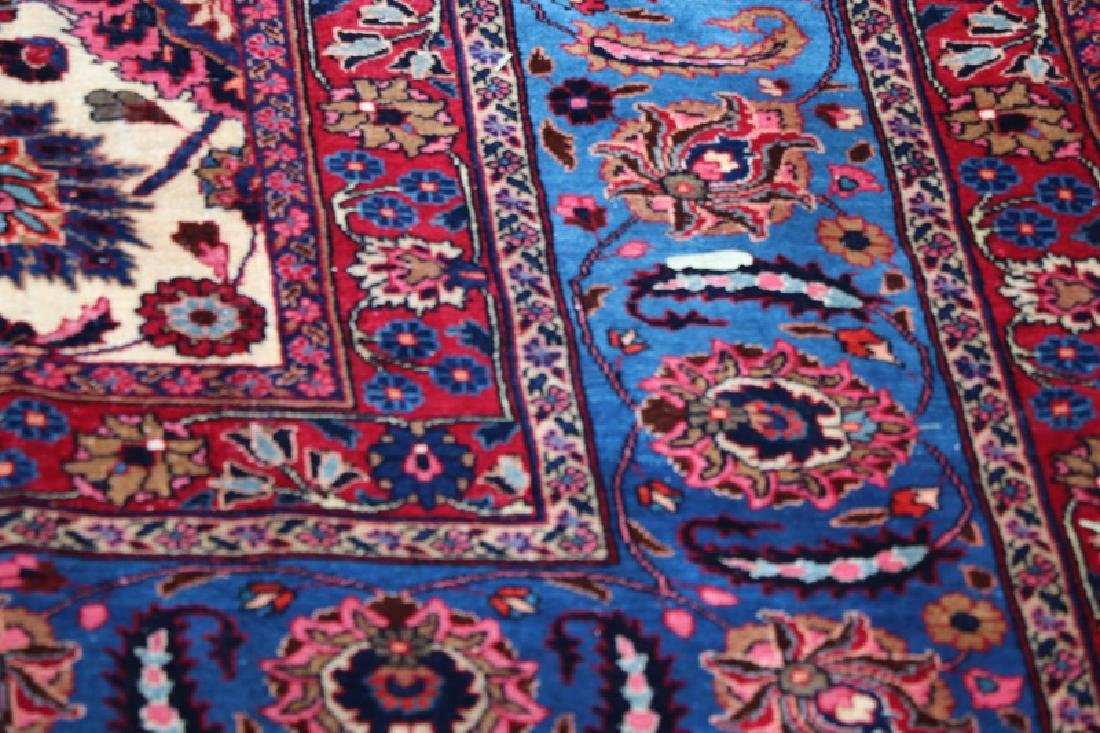 Hand Woven Persian Mashad Rug 10' x 13' - 3