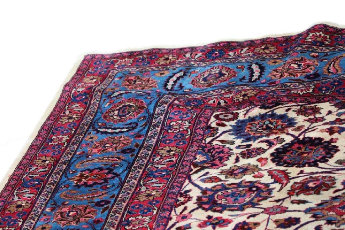 Hand Woven Persian Mashad Rug 10' x 13' - 4