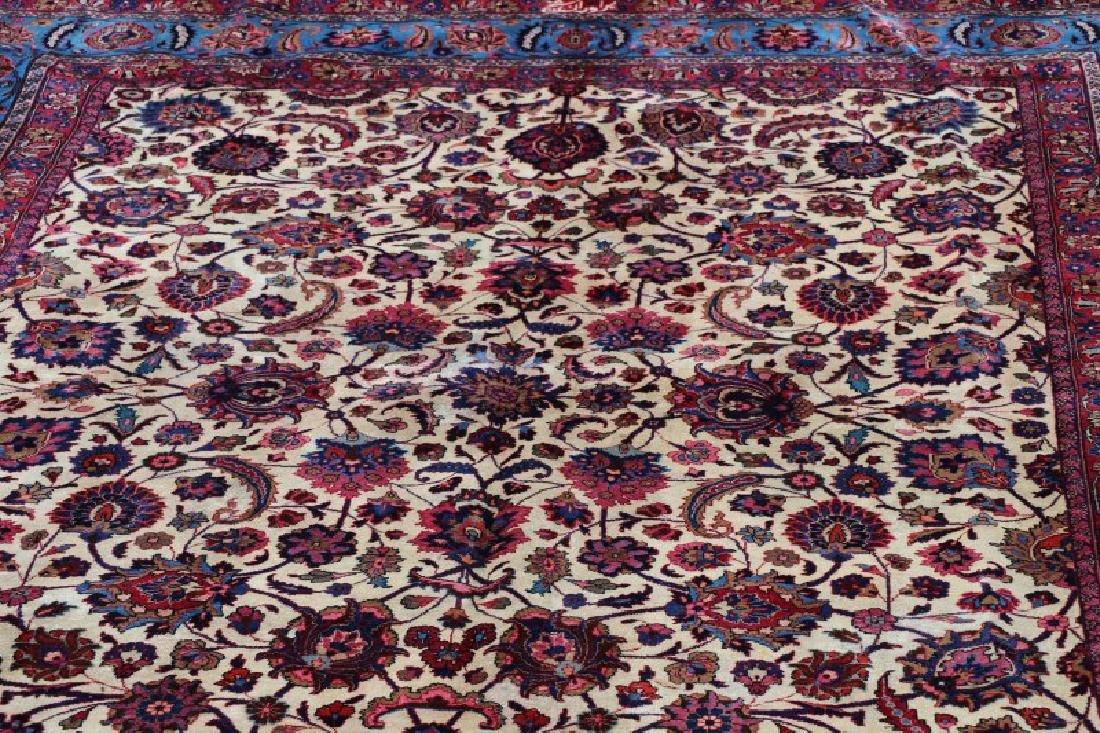 Hand Woven Persian Mashad Rug 10' x 13' - 5