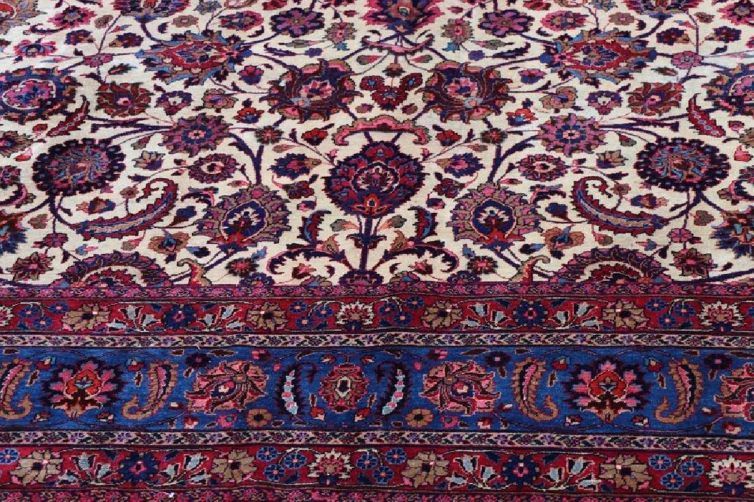 Hand Woven Persian Mashad Rug 10' x 13' - 6