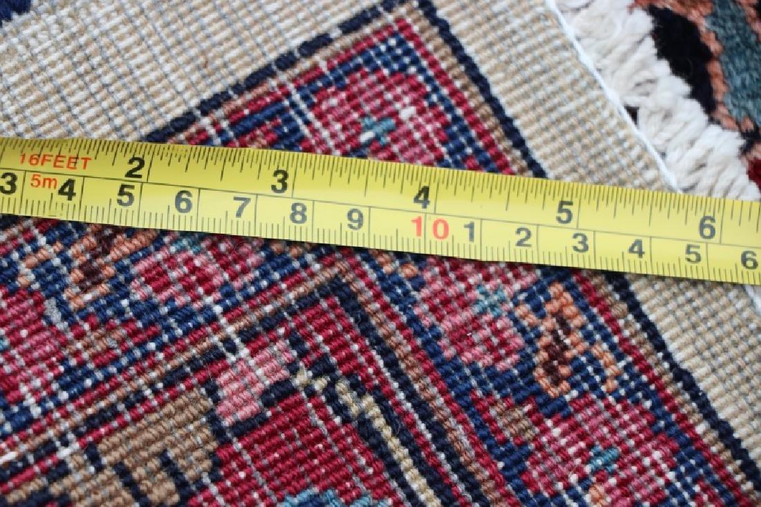 Hand Woven Persian Mashad Rug 10' x 13' - 7