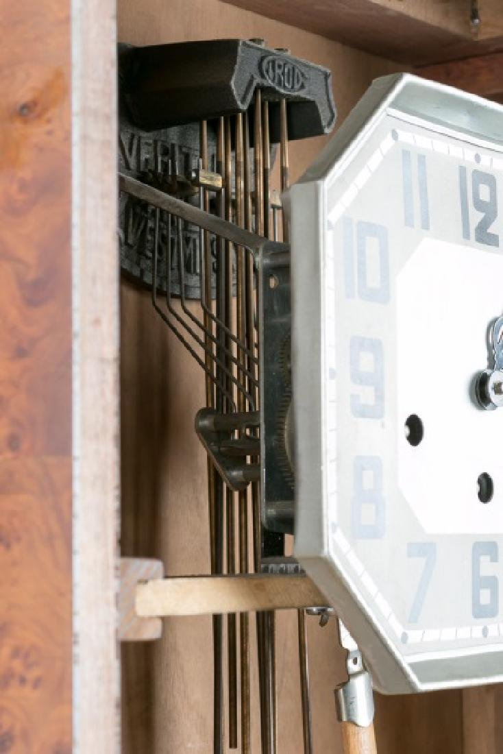 Art Deco Regulator Wall Clock - 7