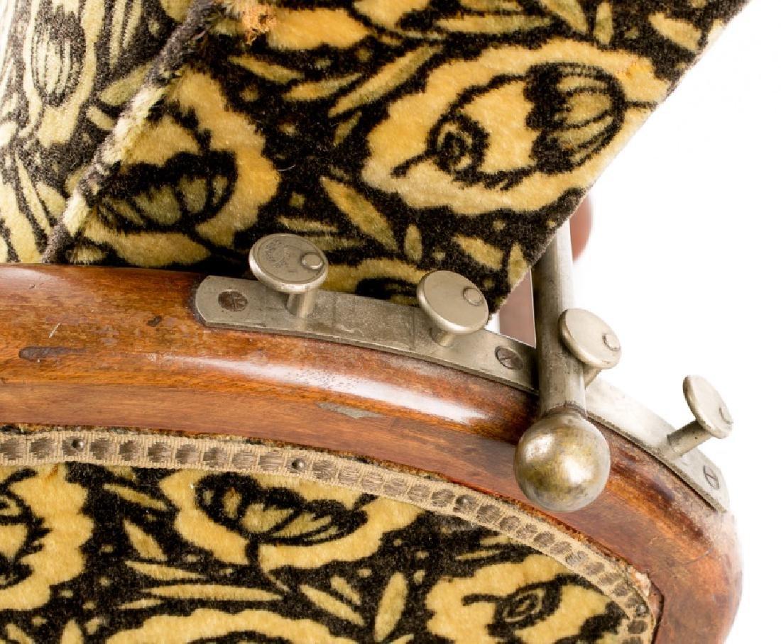 French Art Deco Recliner w/ Original Mohair Fabric - 3