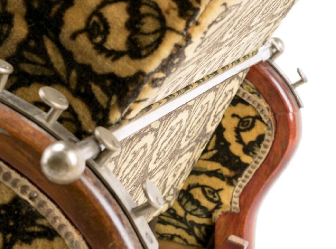 French Art Deco Recliner w/ Original Mohair Fabric - 5