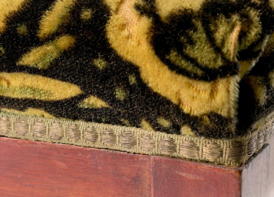 French Art Deco Recliner w/ Original Mohair Fabric - 7