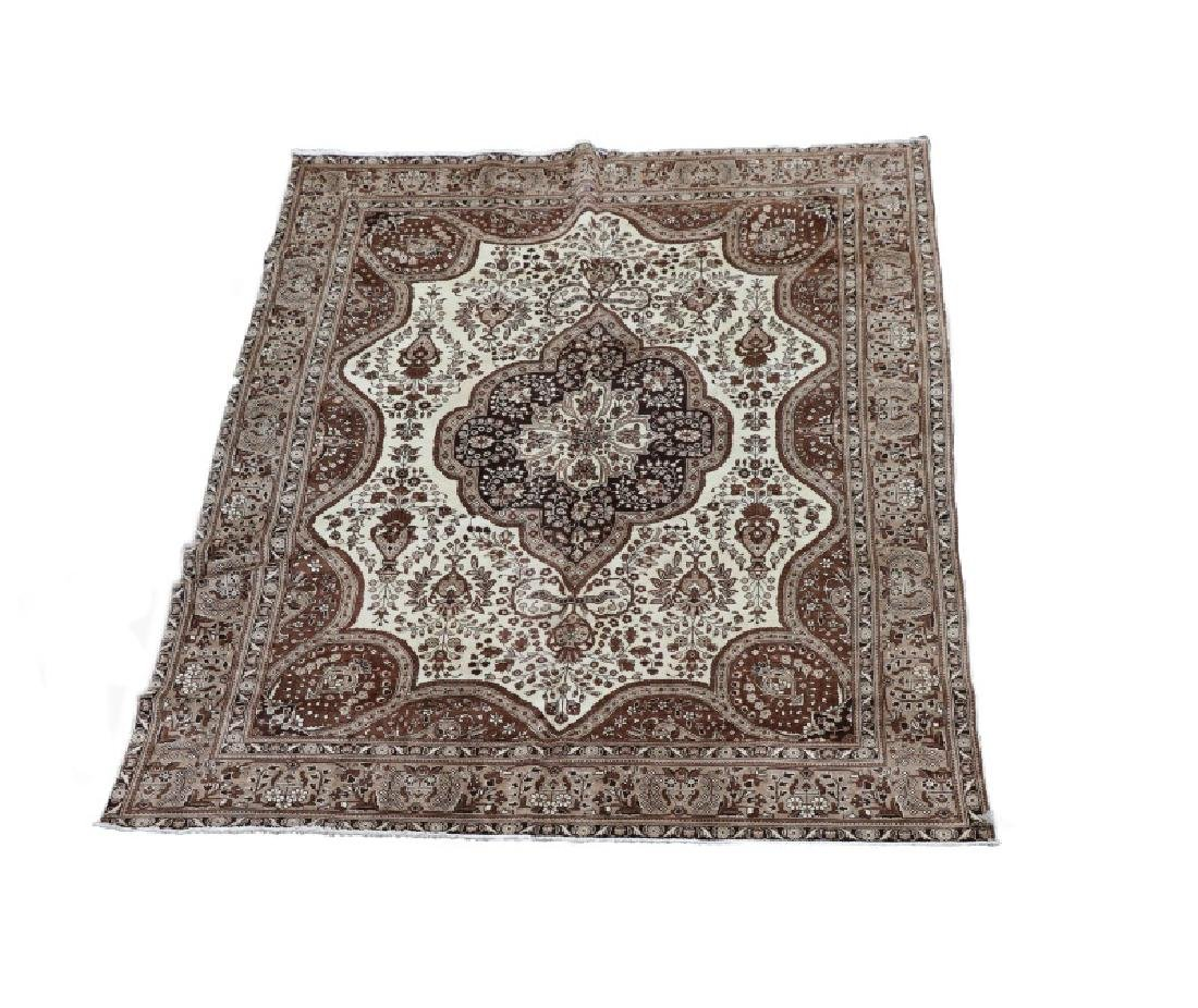 Hand Woven Persian Tabriz 9' 8'' x 12' 10''