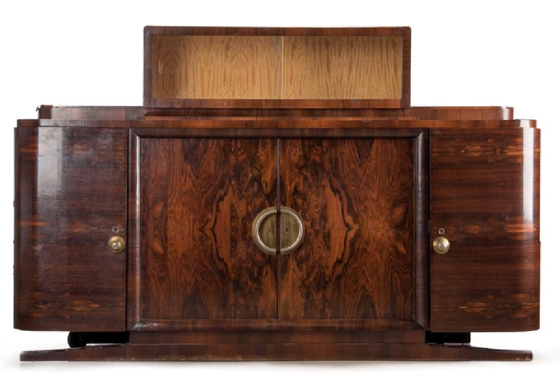 Art Deco Rosewood Grand Sideboard