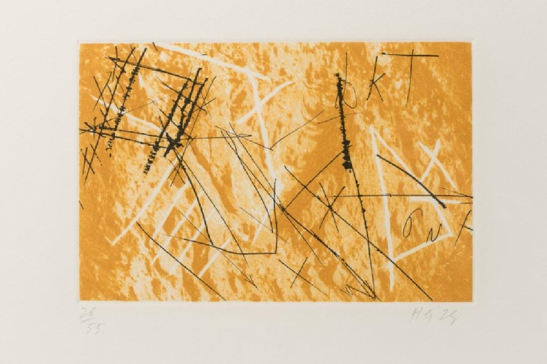 "Series of Michael Heizer ""Montana Survey"" Etchings - 2"