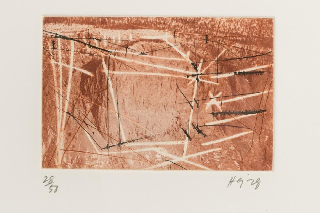 "Series of Michael Heizer ""Montana Survey"" Etchings - 3"