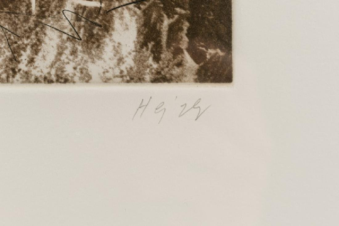 "Series of Michael Heizer ""Montana Survey"" Etchings - 7"