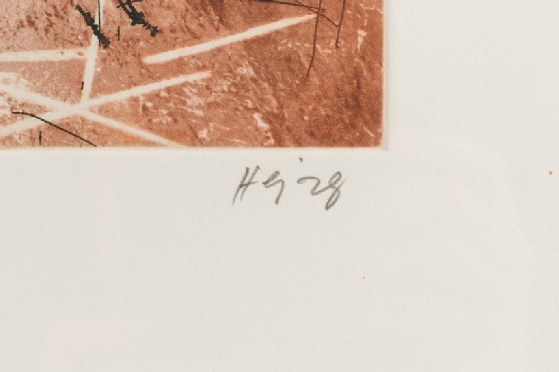 "Series of Michael Heizer ""Montana Survey"" Etchings - 9"