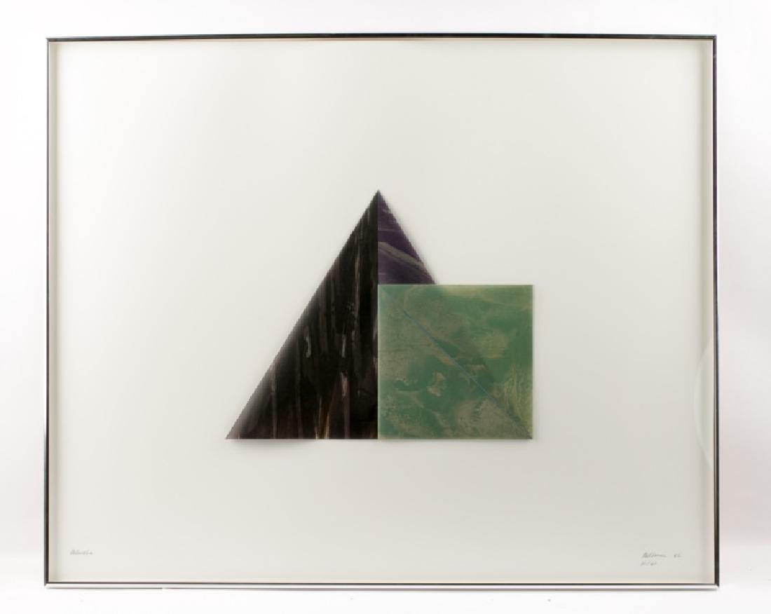"""Dorothea Rockburne """"Melancholia"""" Litho, 1982"""