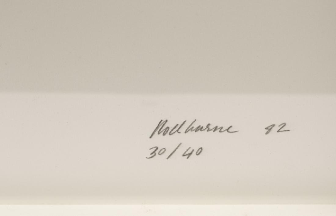 """Dorothea Rockburne """"Melancholia"""" Litho, 1982 - 2"""