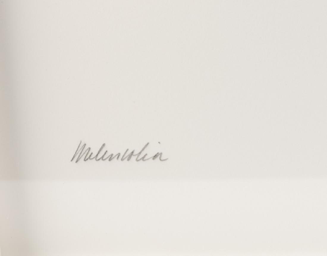 """Dorothea Rockburne """"Melancholia"""" Litho, 1982 - 3"""