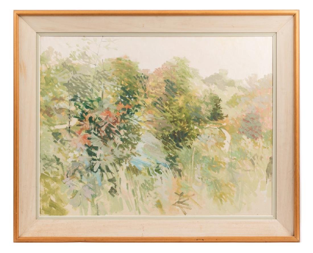 """T.P. Flanagan """"Topath"""" Oil, Signed & Dated"""