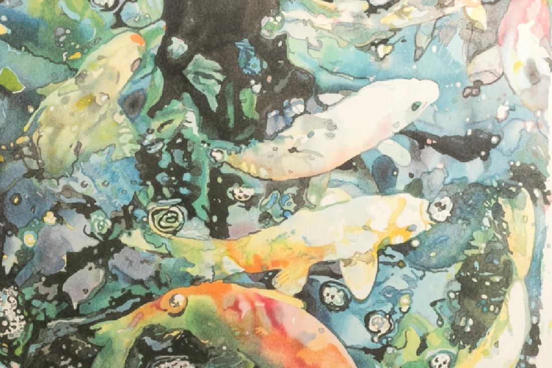 "1986 Lithograph, Joseph Raffael ""New Beginnings"" - 2"