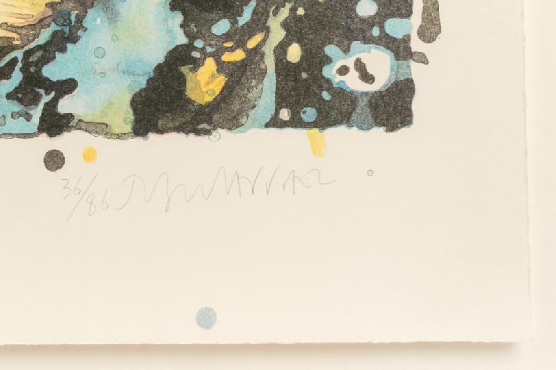 "1986 Lithograph, Joseph Raffael ""New Beginnings"" - 3"