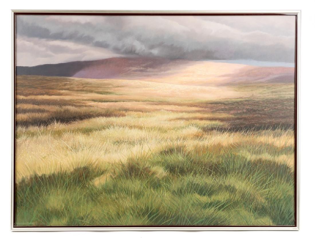 Trevor Geoghegan Oil on Canvas, Signed