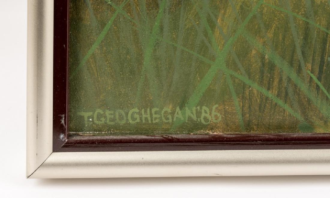 Trevor Geoghegan Oil on Canvas, Signed - 2