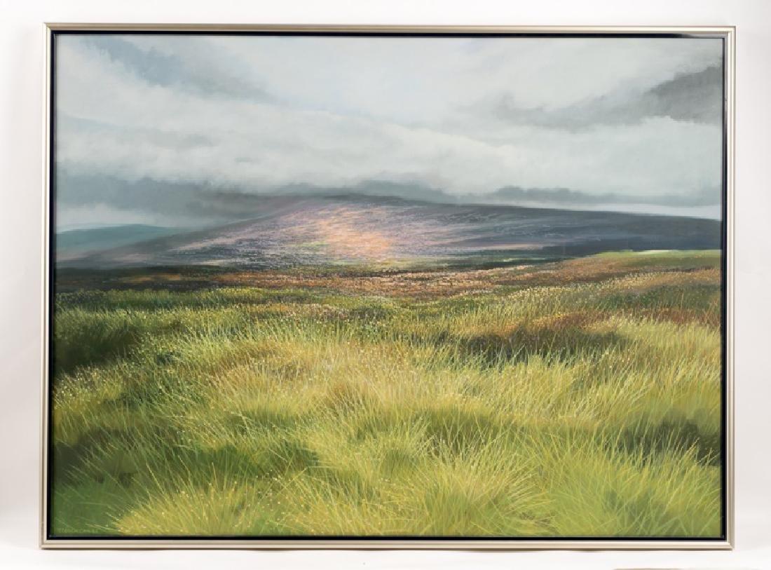 Trevor Geoghegan Signed Oil on Canvas, Landscape