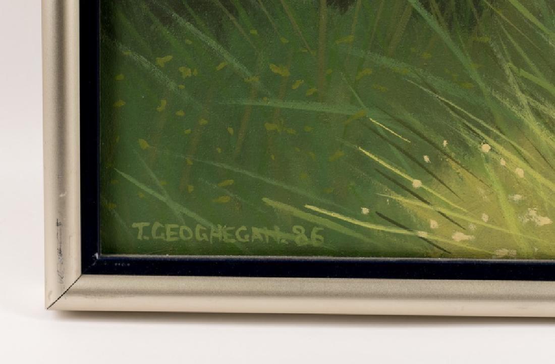 Trevor Geoghegan Signed Oil on Canvas, Landscape - 2