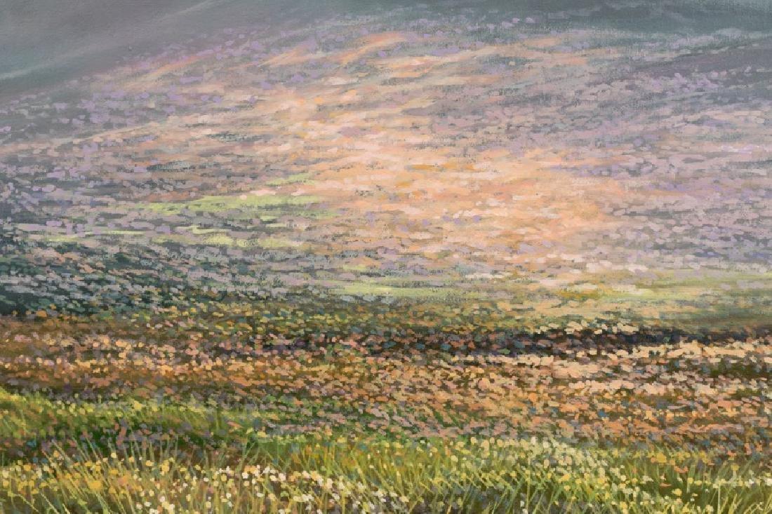 Trevor Geoghegan Signed Oil on Canvas, Landscape - 3
