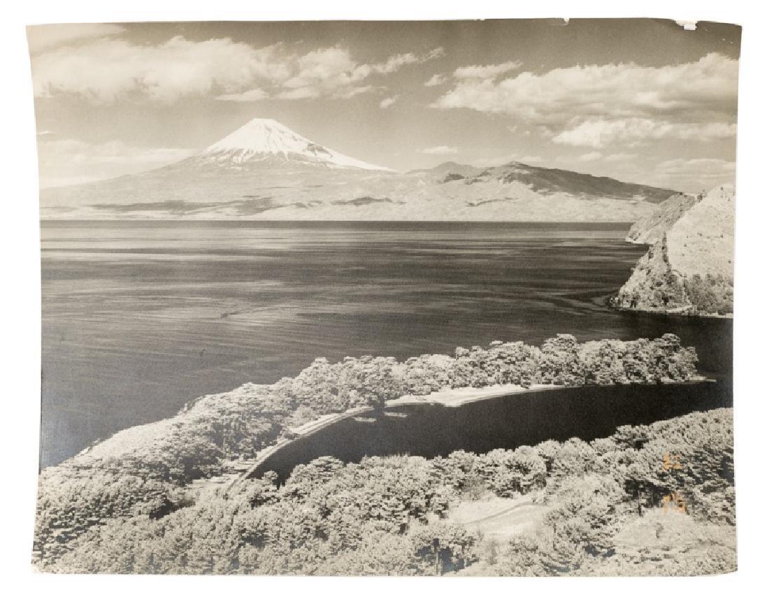Koyo Okada, Signed Mount Fuji Photograph