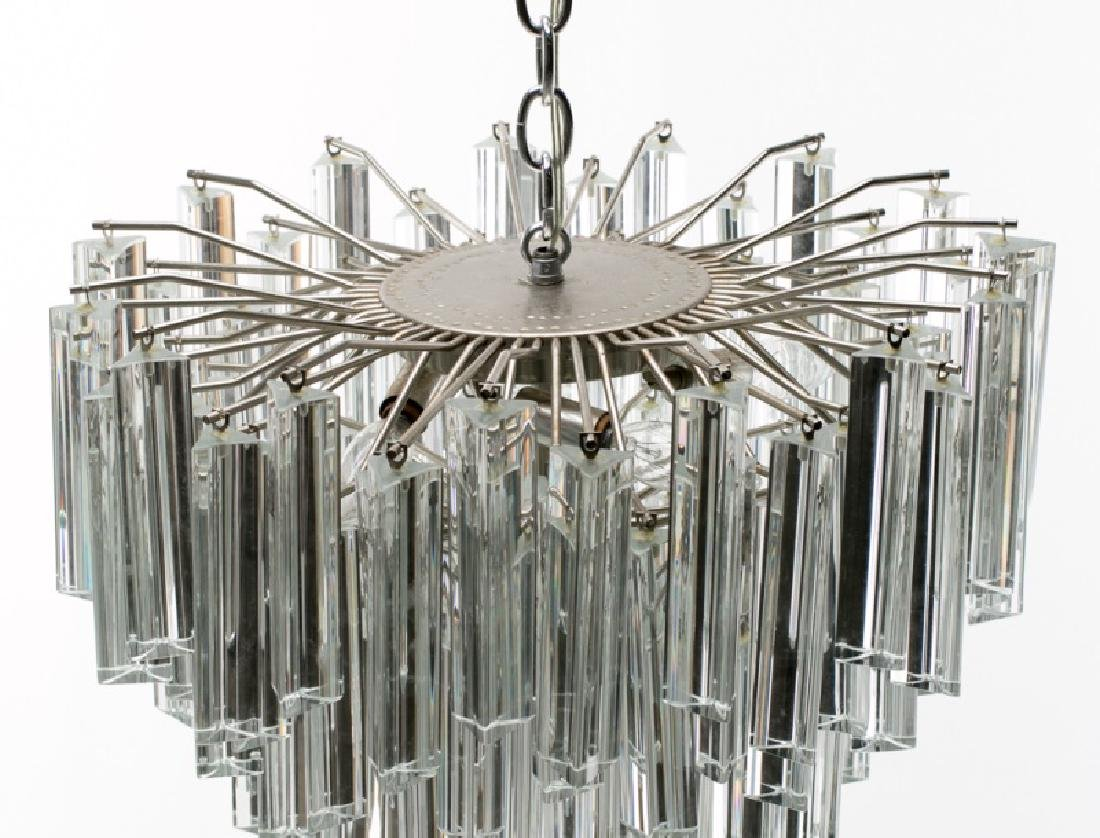 1970s Italian Murano Glass Chandelier by Camer - 2