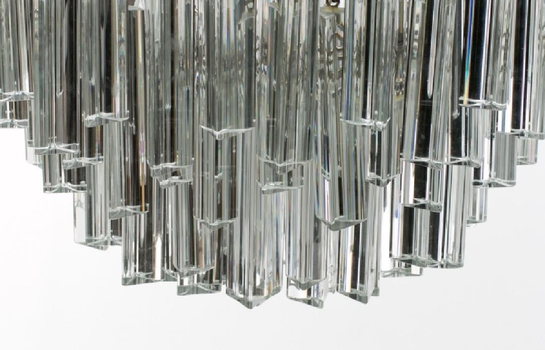 1970s Italian Murano Glass Chandelier by Camer - 3