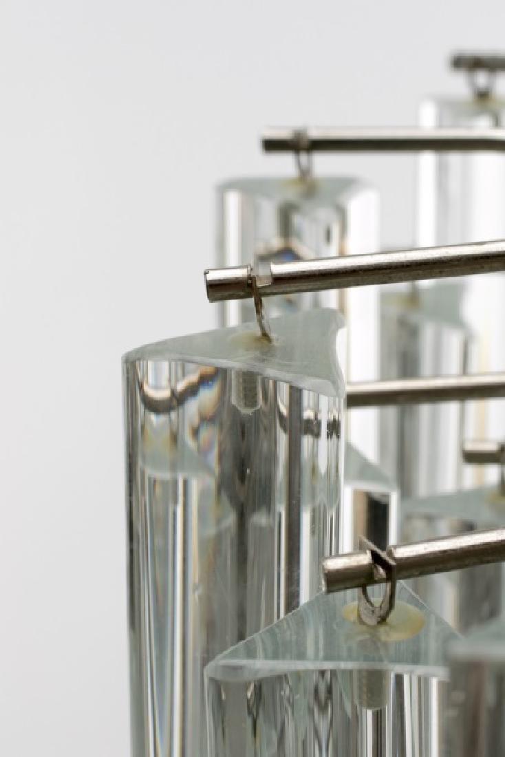 1970s Italian Murano Glass Chandelier by Camer - 5