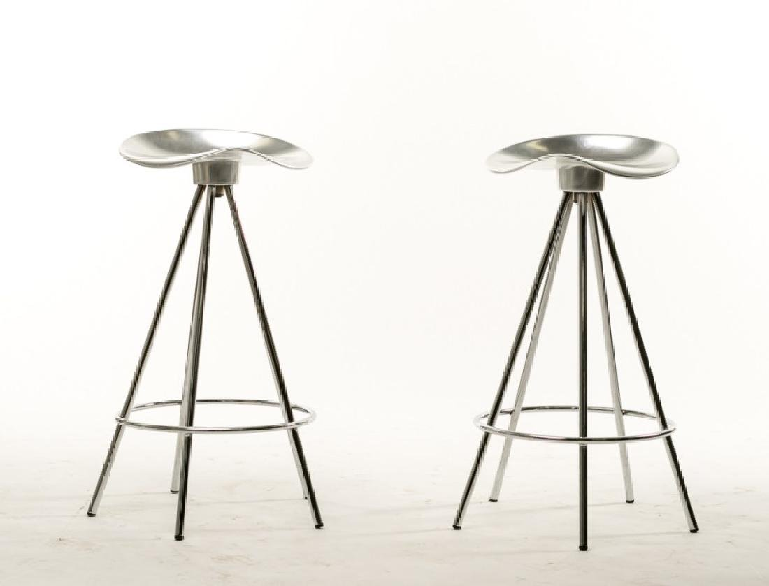 Pair of Pepe Cortes Jamaica Bar Stools by Knoll