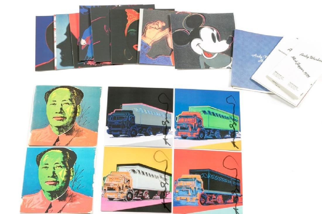 Andy Warhol Invites/Postcards/Signed Truck Suite - 2