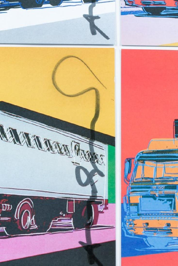 Andy Warhol Invites/Postcards/Signed Truck Suite - 3
