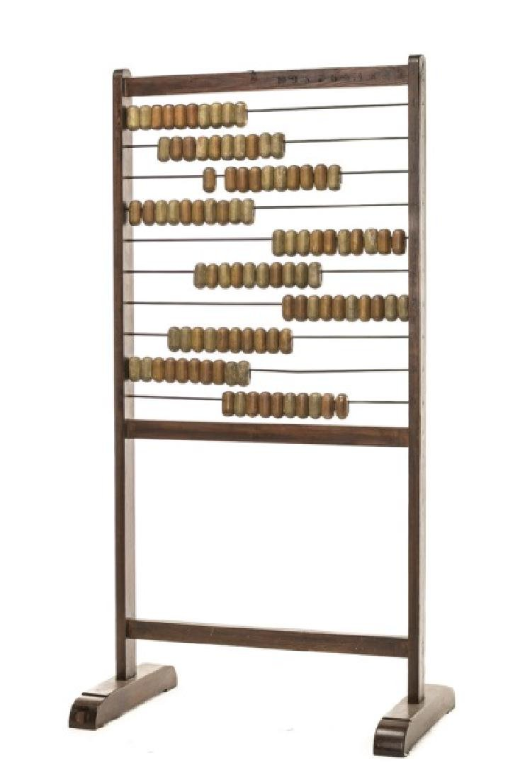 Room Sized German Polychromed Abacus on Stand