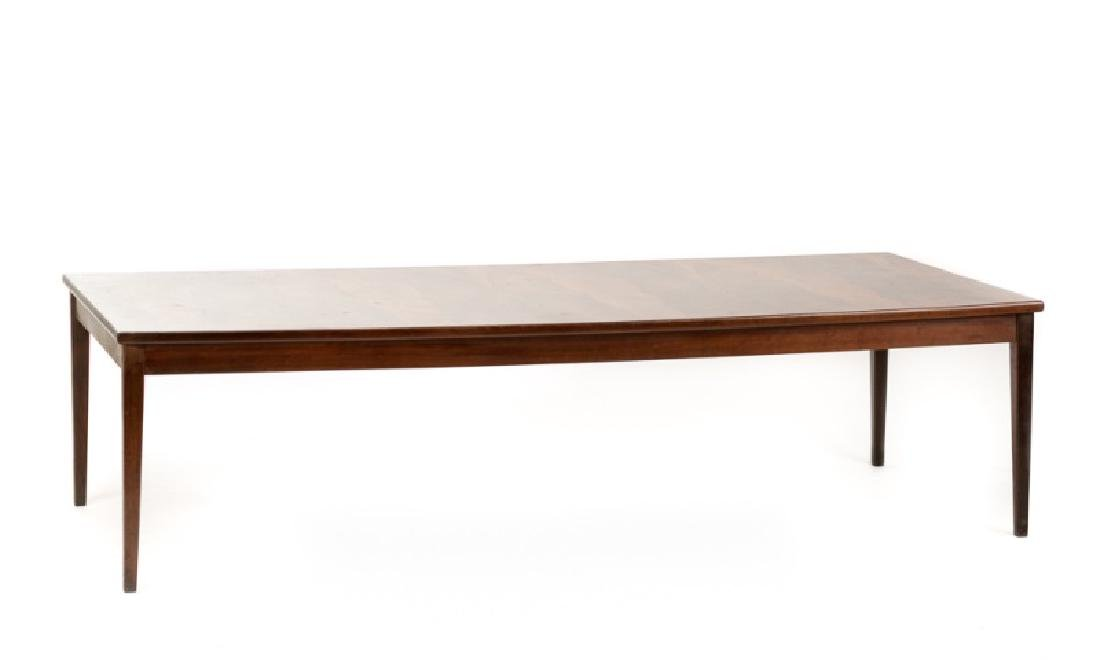 MCM Rosewood Parsons Style Coffee Table